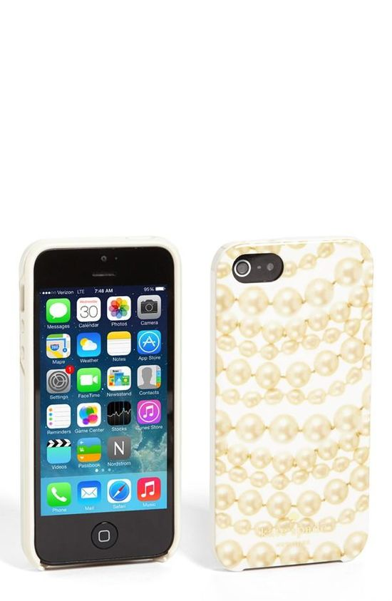 Pearls! Kate Spade iPhone case