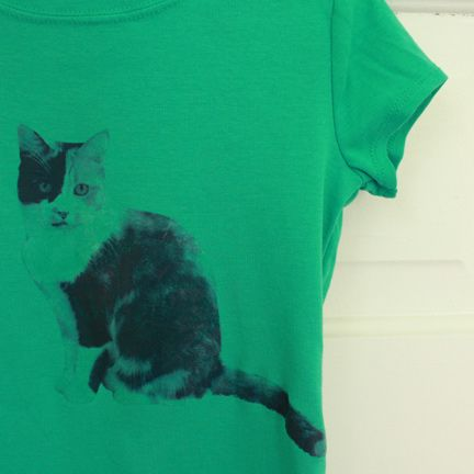 Coolest thing ever. Turn a picture of your pet into a t-shirt!