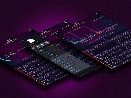 Dashboard UI Design - by Mark Bennett