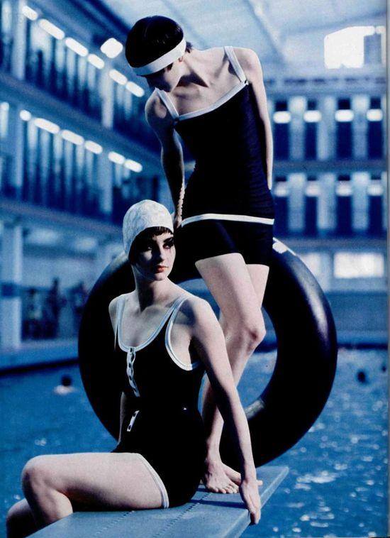 vintage swim, #vintage