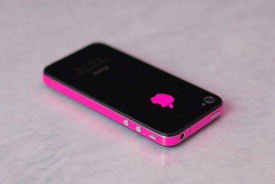 iPhone 4S Antenna Wrap Hot Pink