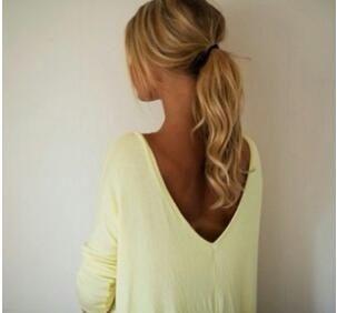 Women's hair style