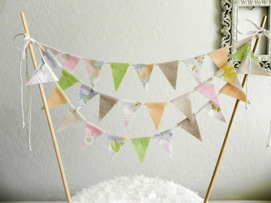 cake bunting.  just too much :)