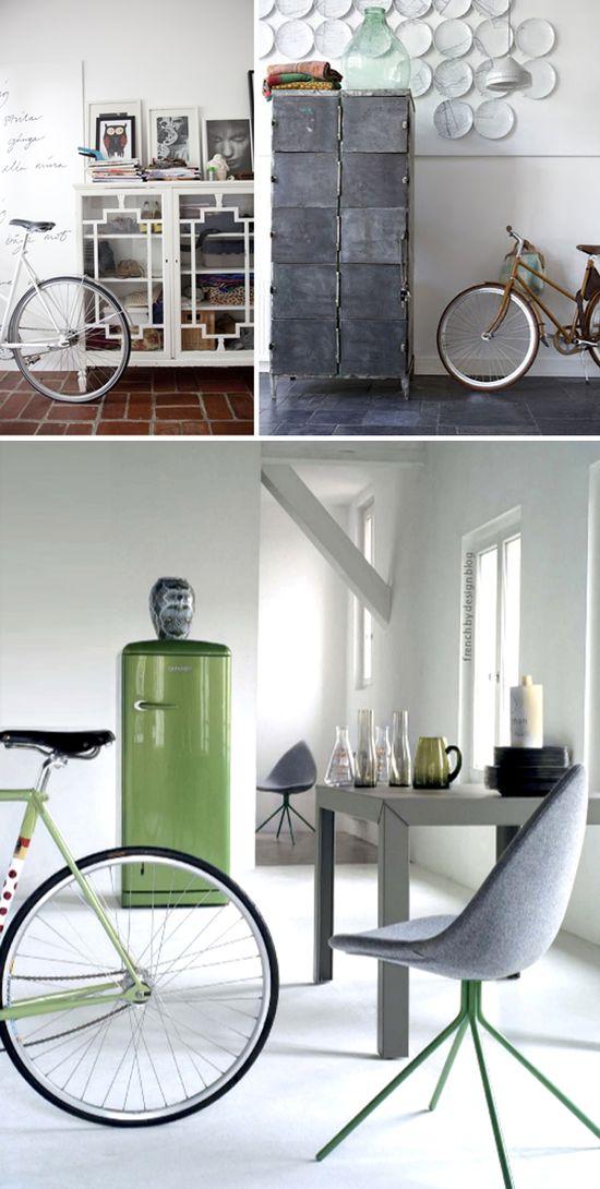 La fiebre del ciclismo invade nuestros interiores - La fièvre du vélo s'empare de nos intérieurs -