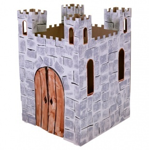 as a kid I would have loved this, my very own castle!