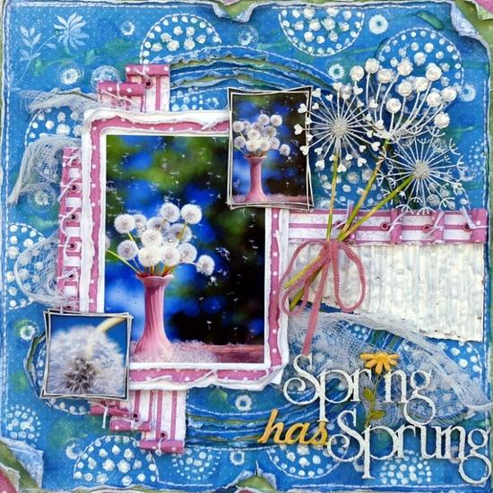 Spring Has Sprung - Scrapbook.com