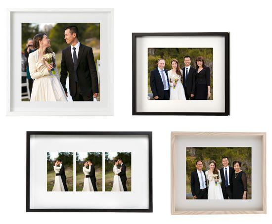 Mini wedding photo gallery.