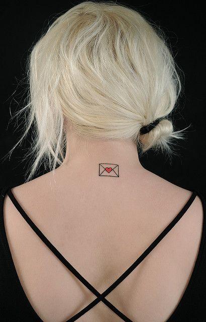 Love letter tattoo