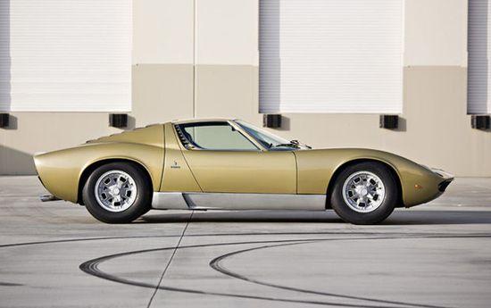 1970 Lamborghini Miura P400 S Profile