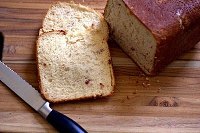 Cheese Bacon Bread-Machine
