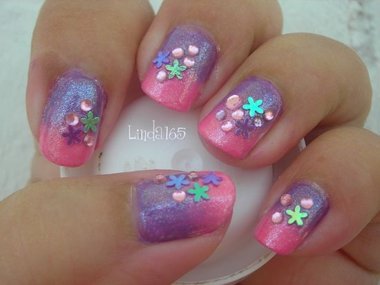 Spring Bling - Nail Art Gallery by NAILS Magazine