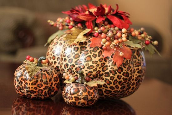 Pumpkins Gone Wild: Take Tissue Paper and Mod Podge to Craft Pumpkins