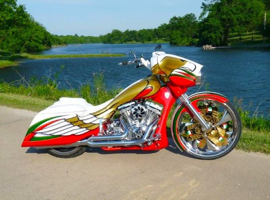 Incredible custom bike