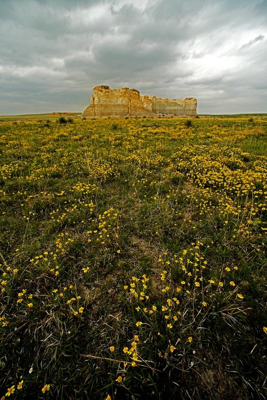 Monument Rocks, KS.