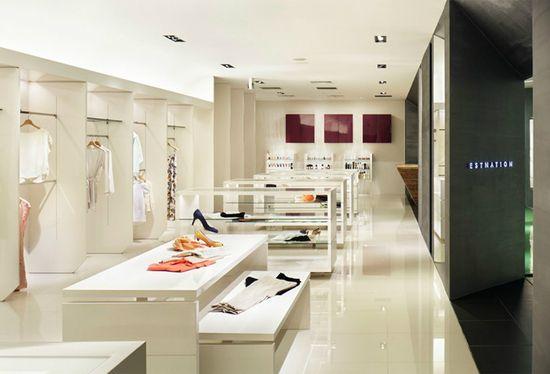 ESTNATION store by Moment Design, Nagoya   Japan store design