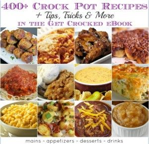 400+ Slow Cooking Recipes - half-price eBook!