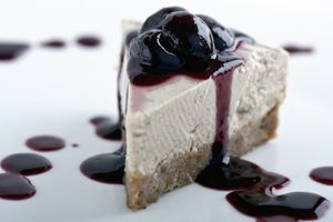 Raw Cheesecake.  #Gluten-Free #Vegan