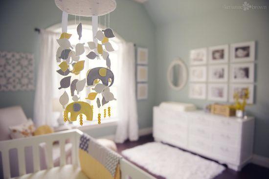 Baby Boy Idea, Gray and yellow