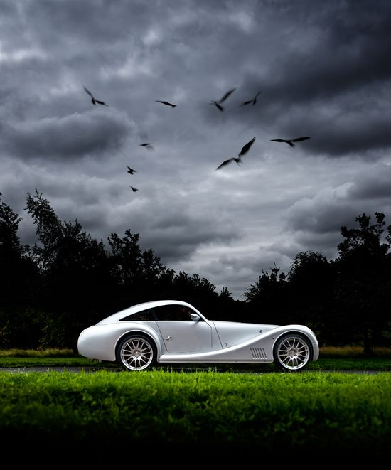 Morgan Aero Coupe - I think that this may be my favorite car company!
