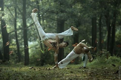 Fitness Inspiration - capoeira