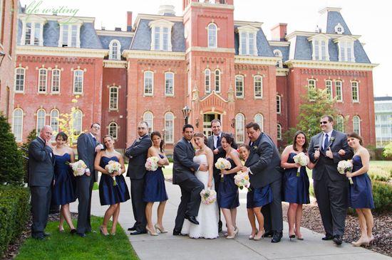 Woodburn Hall Wedding Photo