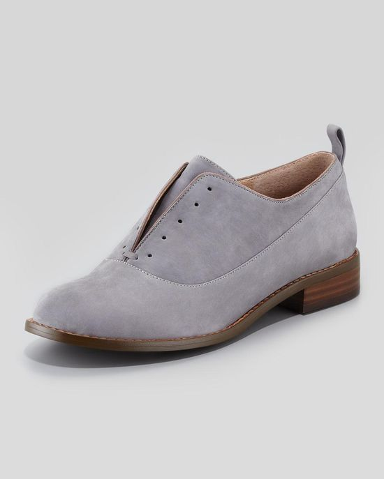 slip on Oxfords