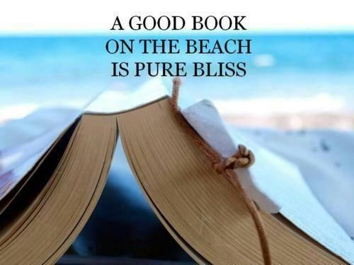 Books and the beach.