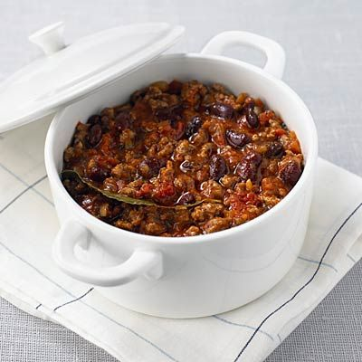 Chili, loaded with protein, fiber, and fat-torching hot peppers, is the ultimate cold weather comfort food