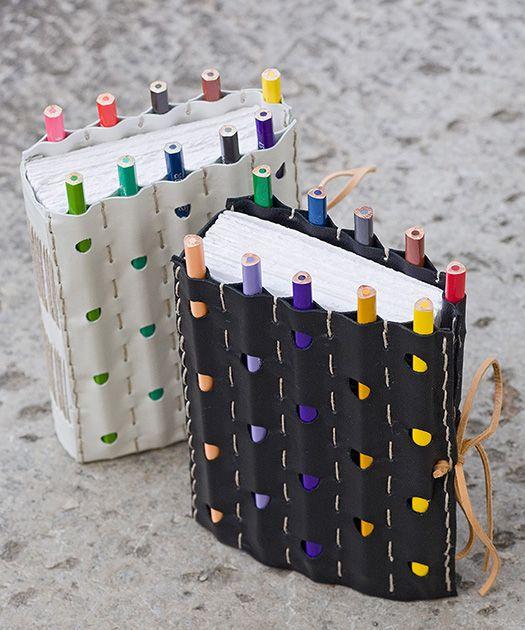 DIY Notebook and Pencil Craft