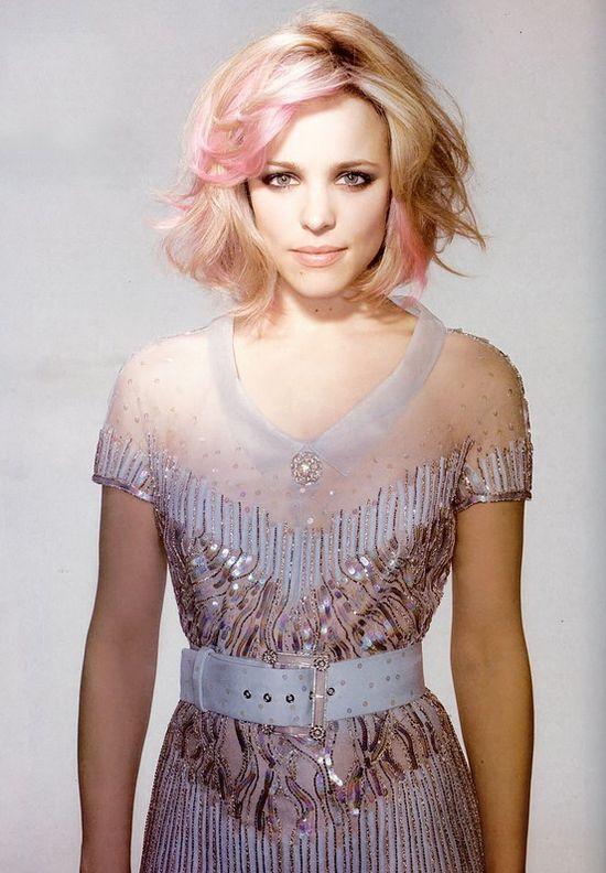 i love light pink and blonde together.