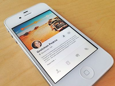 Examples of UI Design Inspiration, Android UI & iPhone UI