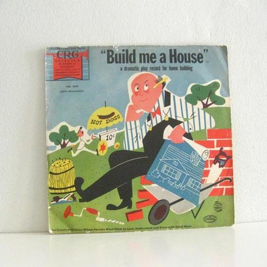 vintage record sleeve