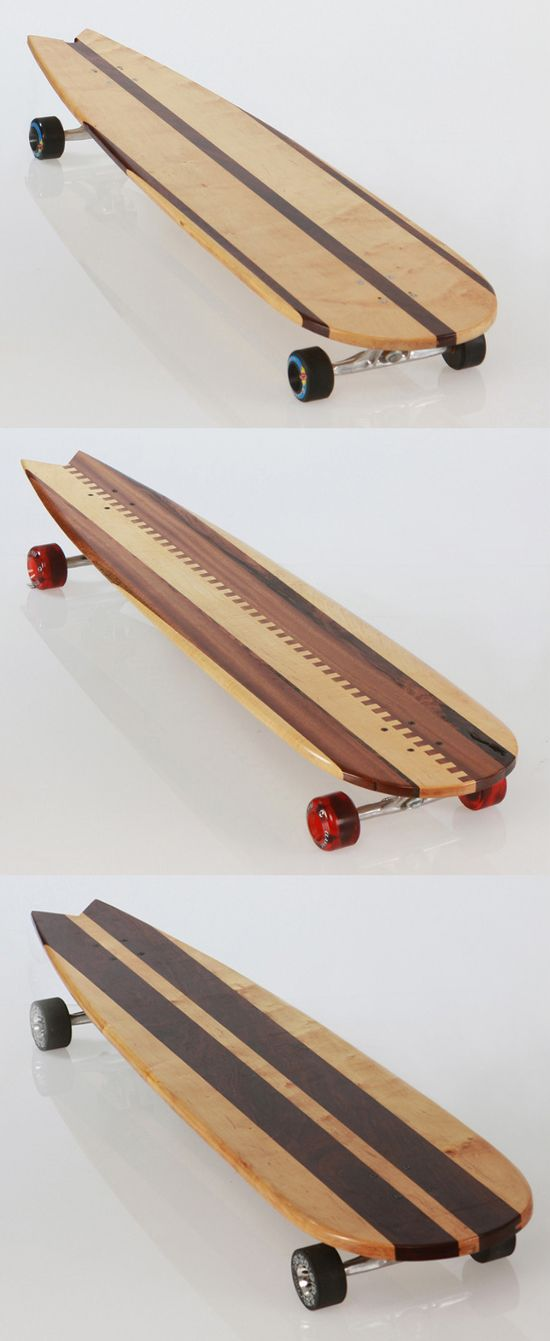 Handmade Longboards for Style Factory