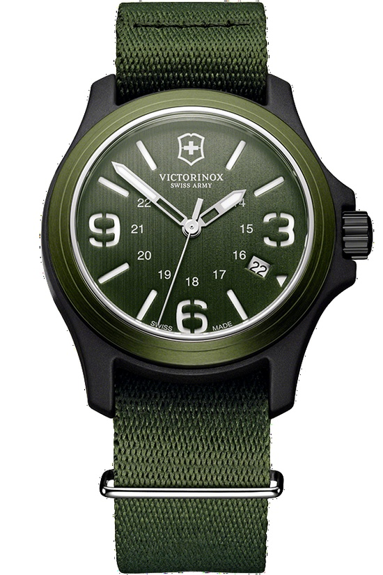 Victorinox Swiss Army Original - St. Patrick's Day #green #watch #watches