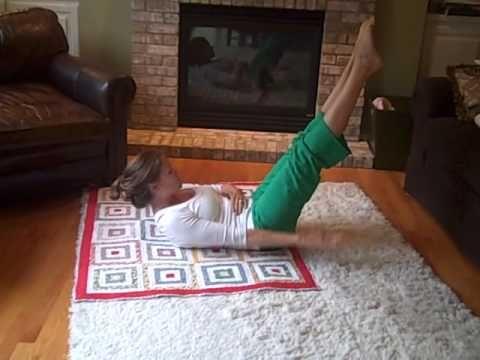 A Quick Pilates Abdominal Series Workout by Leah Campbell-Badertscher