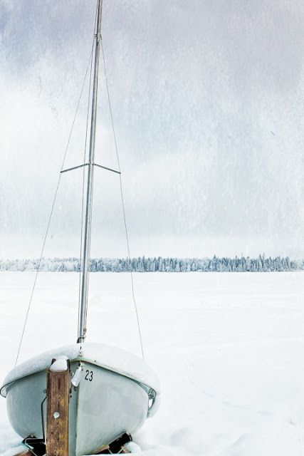 Cool snow & White