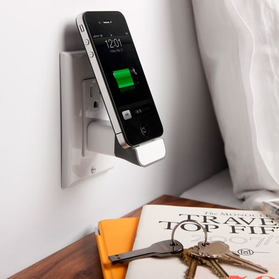 iphone or ipad charger that keeps it off your table