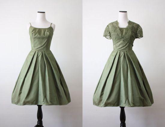 1950s sage lace
