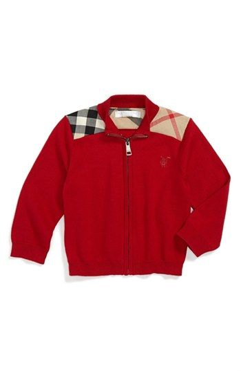 Burberry 'Christian' Sweater (Baby Boys) available at #Nordstrom