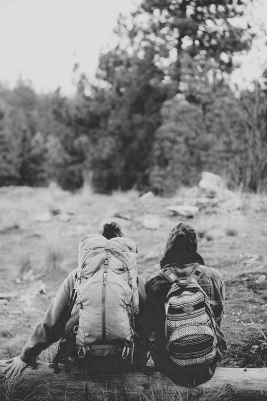 hiking, best friends
