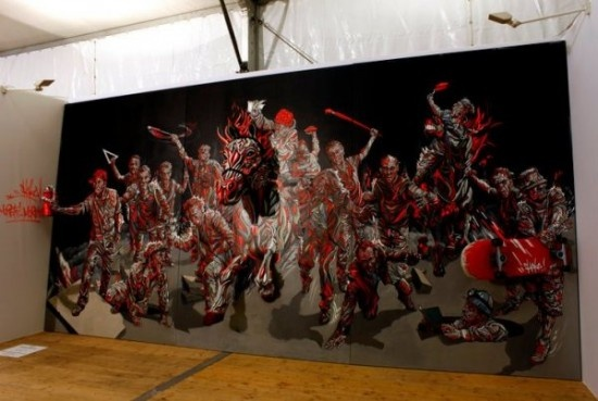 Marchal Mithouard 3D Paintings