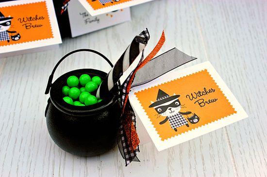 Witches Brew Halloween Treat
