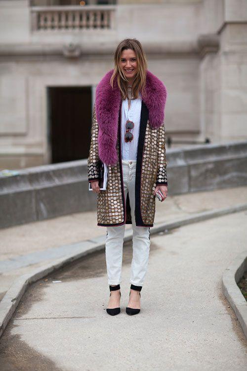 Street Style Fall 2013: Paris Fashion Week