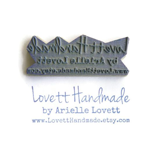Awesome stamps at this store. NEW Custom Business Card Stamp / Packaging Stamp - Cling Rubber Stamp