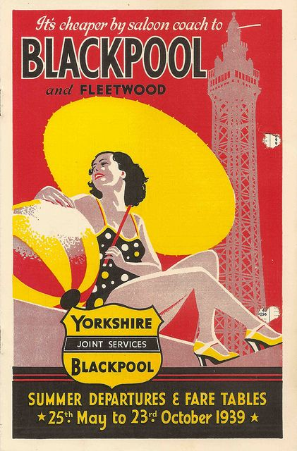 West Yorkshire Joint Coach Services timetable leaflet, 1939