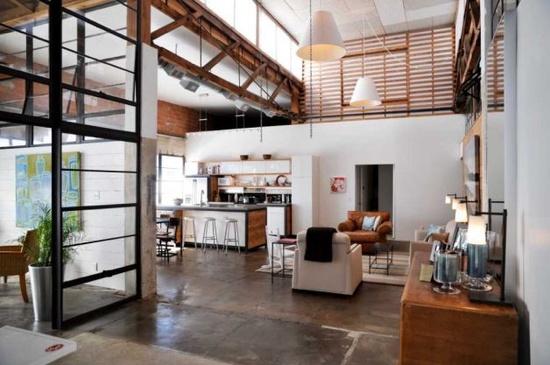 great loft style apartment