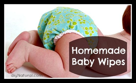 We don't have a baby in the house anymore, but this would be good for trips in the car and such.  Baby wipes can be made at home, simply, naturally, and at very little cost.