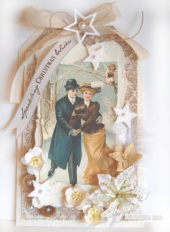 Christmas Card made by Inger Harding