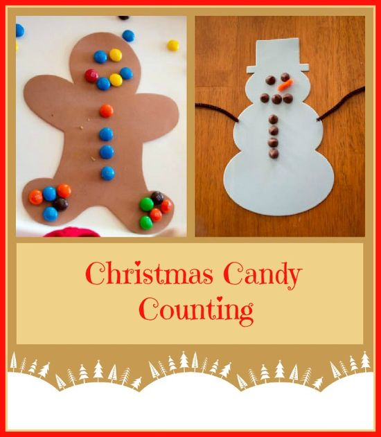 Snowman Chocolate chip Gingerbread M's christmas counting