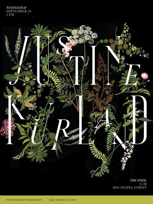 Justine Kurland LecturePoster, 2012